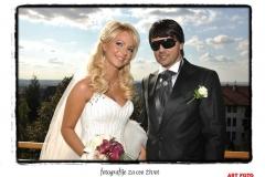 Biznizmen Predrag Minović i Jelena Bilbija